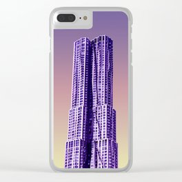 New York by Gehry Clear iPhone Case