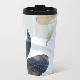Moody Leaves II Metal Travel Mug