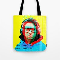 beastie boys Tote Bags featuring Gioconda Music Project · Beastie Boys · Adam Horrovitz by Marko Köppe