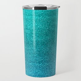 Faux Glitter Travel Mug