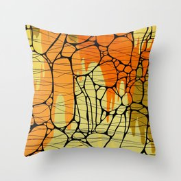 Piedras Color 1 Throw Pillow