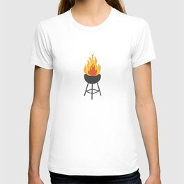 BBQ on Fire T-shirt
