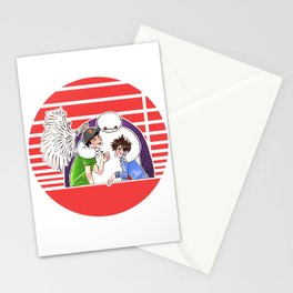 Satisfied With your Care Stationery Cards