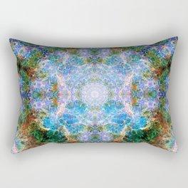 Nebula Mandala Rectangular Pillow
