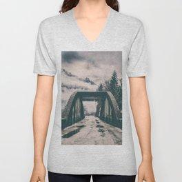 Silence bridge Unisex V-Neck