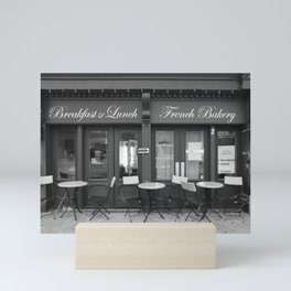 French Bakery Mini Art Print