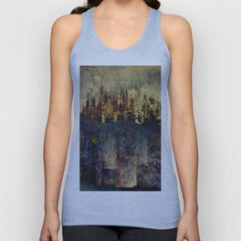 LIFE CITY AMBIGRAM Unisex Tank Top