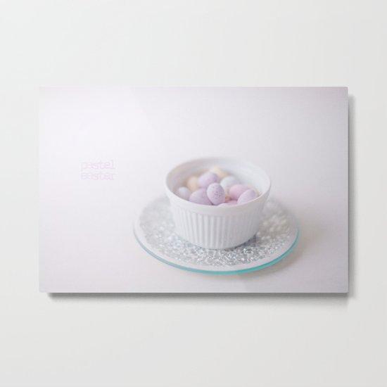Pastel Easter  Metal Print