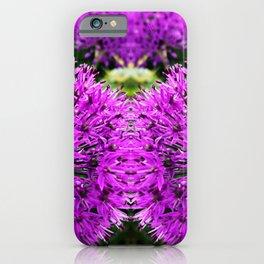 Magic Purple Flower Photography iPhone Case