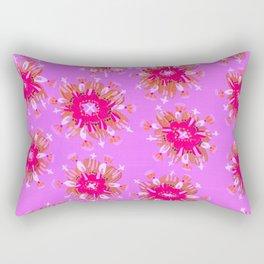 Lilac Christie Rose Rectangular Pillow