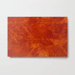 Rusty stained cloth sheet texture abstract Metal Print