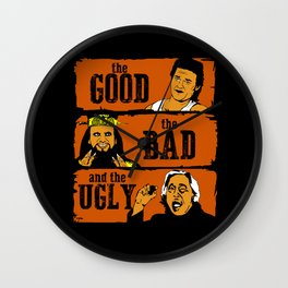The good the bad and the ugly in Chinatown Wall Clock