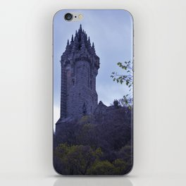 William Wallace Monument in Scotland iPhone Skin