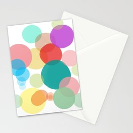 Happy bubbles Stationery Cards