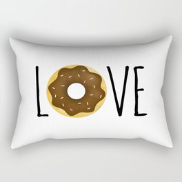 I Love Donuts Rectangular Pillow