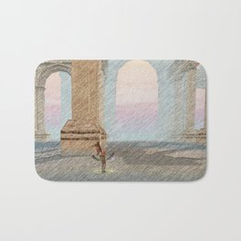 Temple relics - 寺庙遗址寺庙 文物 Bath Mat