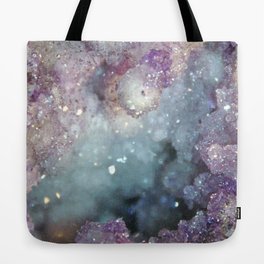 Unicorn Crystal Geode Tote Bag