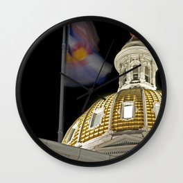 Denver Capitol  Wall Clock