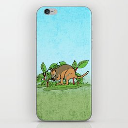 Wallaby feast iPhone Skin