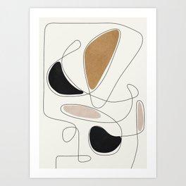 Thin Flow III Art Print