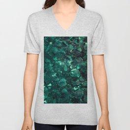 Emerald Unisex V-Neck