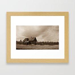 Homestead Framed Art Print