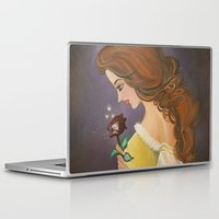 belle Laptop & iPad Skins featuring Belle by carotoki art and love