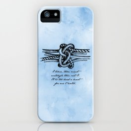 William Shakespeare - Twelfth Night - Knot iPhone Case