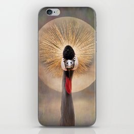 Crested Crane  iPhone Skin
