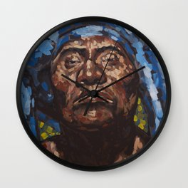 Like a Turban. Wall Clock