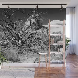 Desert Tree Wall Mural