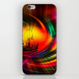 Time- Tunel100 iPhone Skin