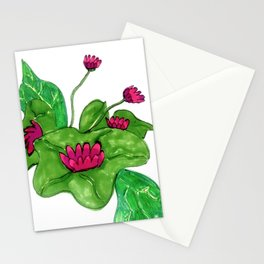 Pink Lilly Stationery Cards