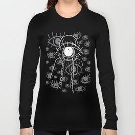 Eye Am Eye Am Eye Am (for black items) Long Sleeve T-shirt