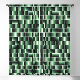 Green set of tiles - movie style Blackout Curtain