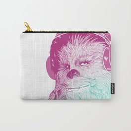 Wookie Beats - Chewie Rockin' some tunes Carry-All Pouch