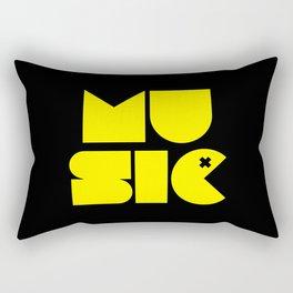 Music Man Rave Quote Rectangular Pillow