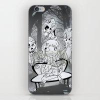 zombies iPhone & iPod Skins featuring Zombies  by Alejandra Ochoa