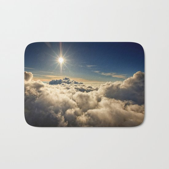 clouds (Above The Heavenly Clouds) Bath Mat