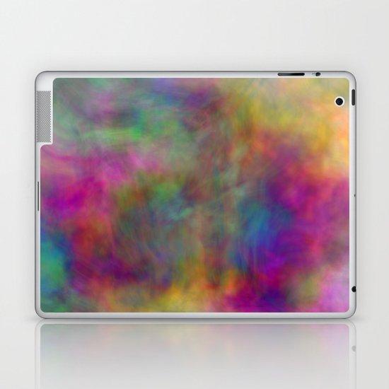 rainbow clouds Laptop & iPad Skin