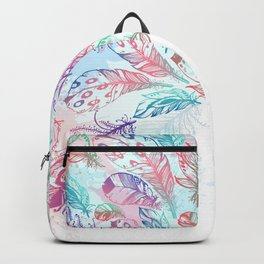 Bohemian Rain Backpack