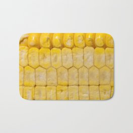 cut corncobs corn slice grain Bath Mat