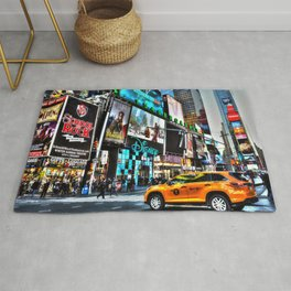 Times Square NY Rug