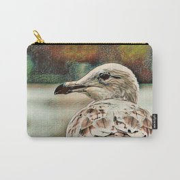Toony Seagull Carry-All Pouch