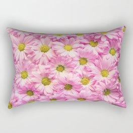 pink daisies #society6 #decor #buyart Rectangular Pillow
