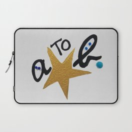 B FOR AGNES B - A STAR TO BE Laptop Sleeve