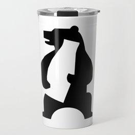 BEAR GLASS Travel Mug