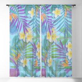 Tropical Paradise I Sheer Curtain