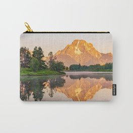 Oxbow Bend Landscape Mountain Print Carry-All Pouch