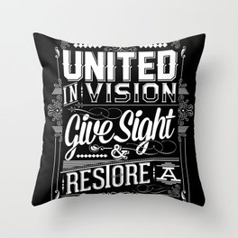 United Invision Throw Pillow